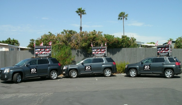gmc-Car-Caravan-mobile-billboards